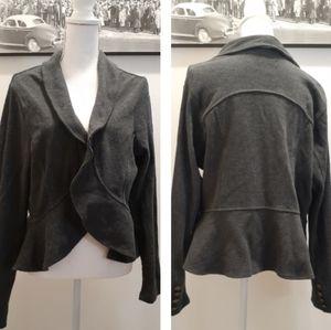 Torrid light ruffled jacket